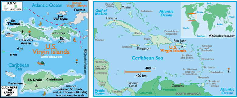 Maps Update 2000770 St Thomas Caribbean Map St Thomas Map St – St Thomas Map Caribbean